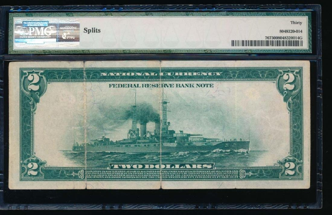 1918 $2 Chicago Federal Reserve Bank Note PMG 30 - 2