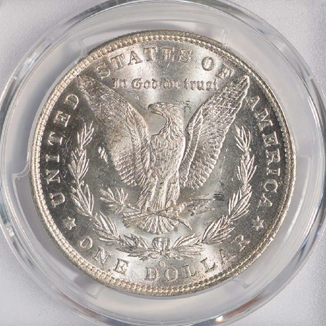 1881-O $1 Morgan Silver Dollar Coin PCGS MS64 - 4
