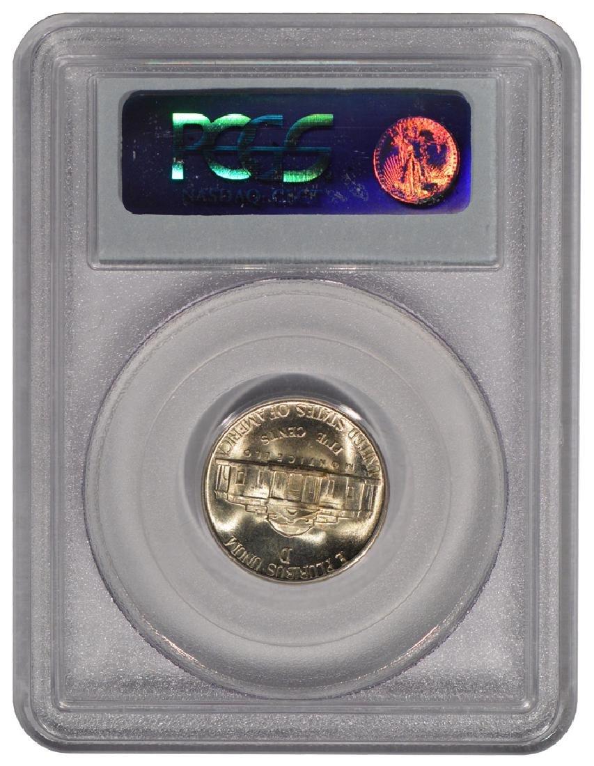 1945-D Jefferson Nickel PCGS MS67 - 2