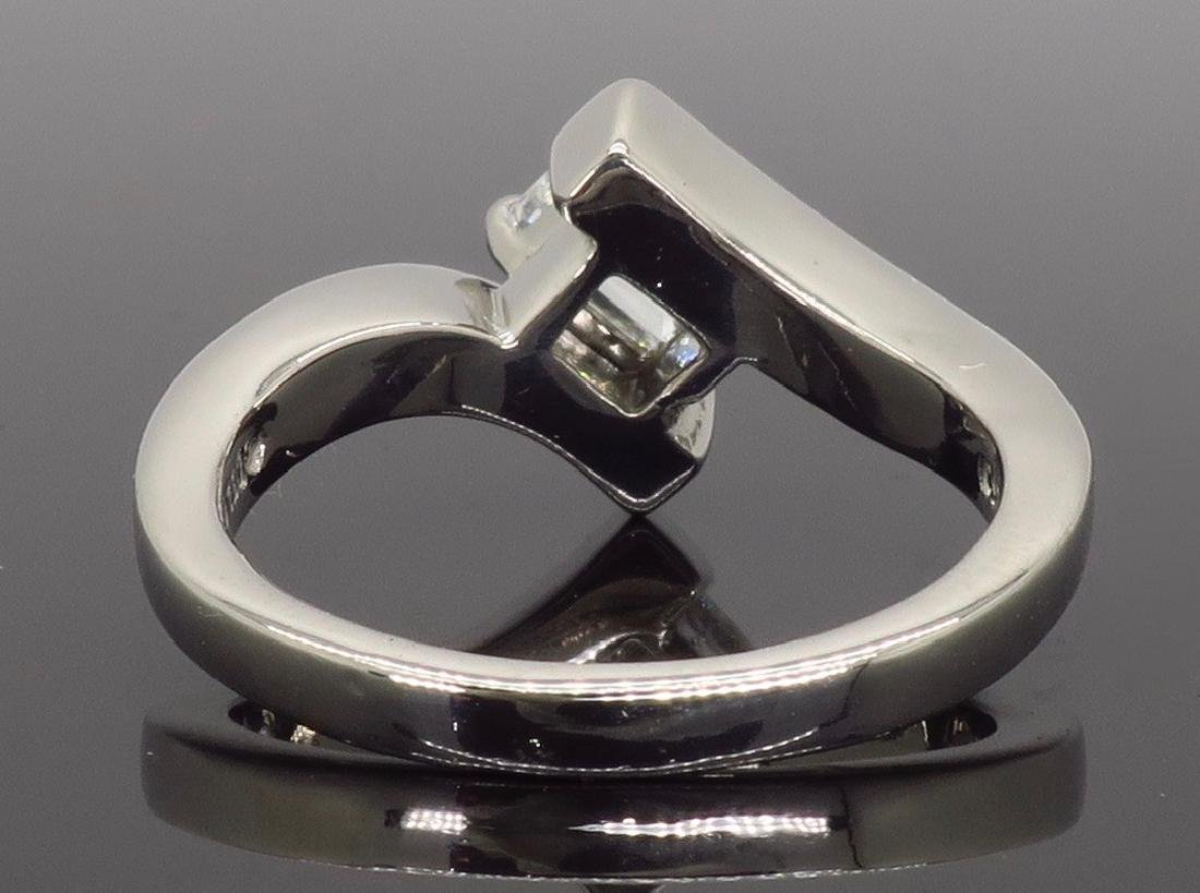 Palladium 0.67ct Diamond Ring - 3