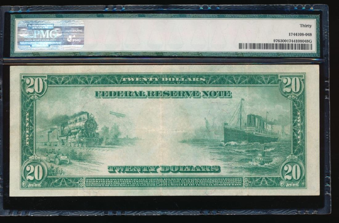 1914 $5 Minneapolis Red Seal Federal Reserve Note PMG - 2