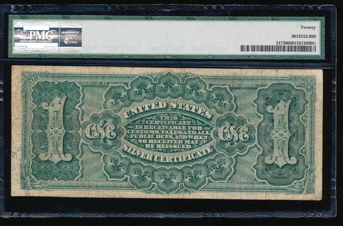 1866 $1 Martha Washington Silver Certificate PMG 20 - 2