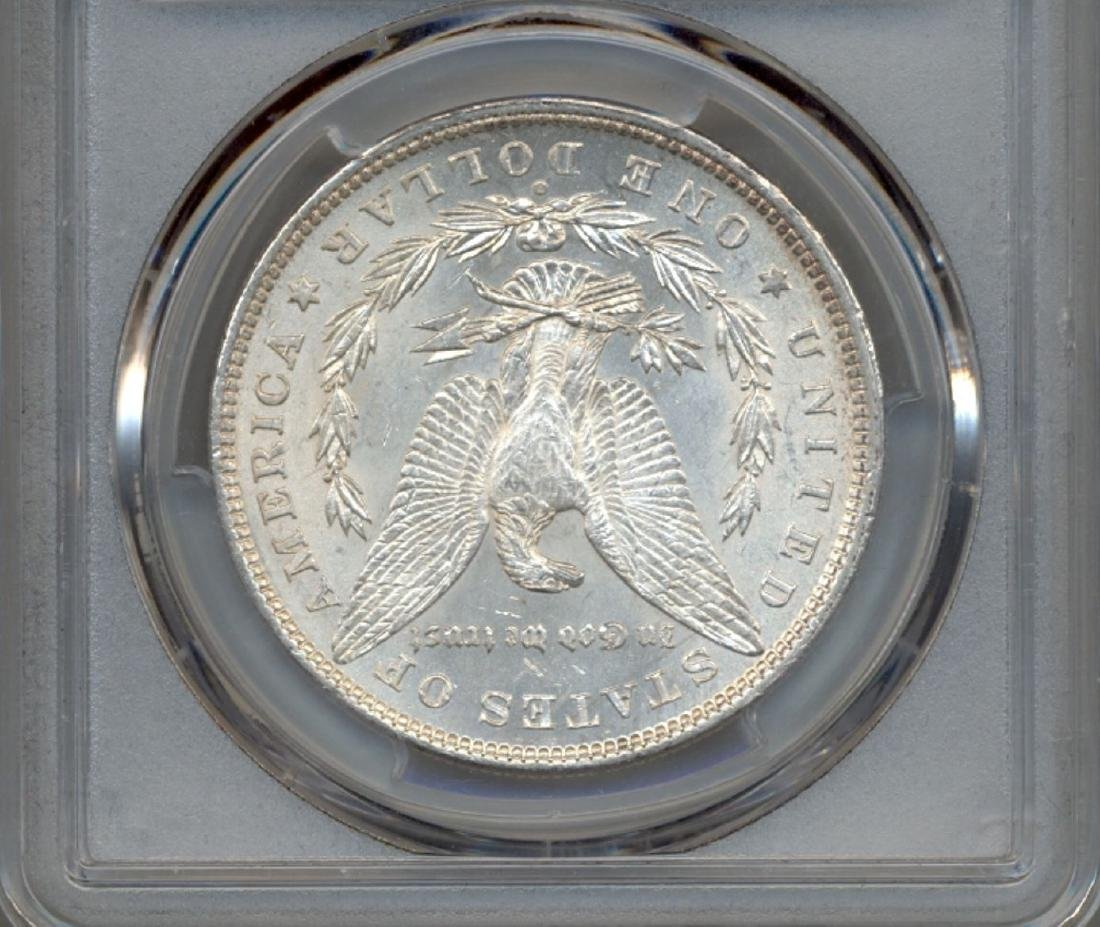 1880-O $1 Morgan Silver Dollar Coin PCGS MS61 - 2