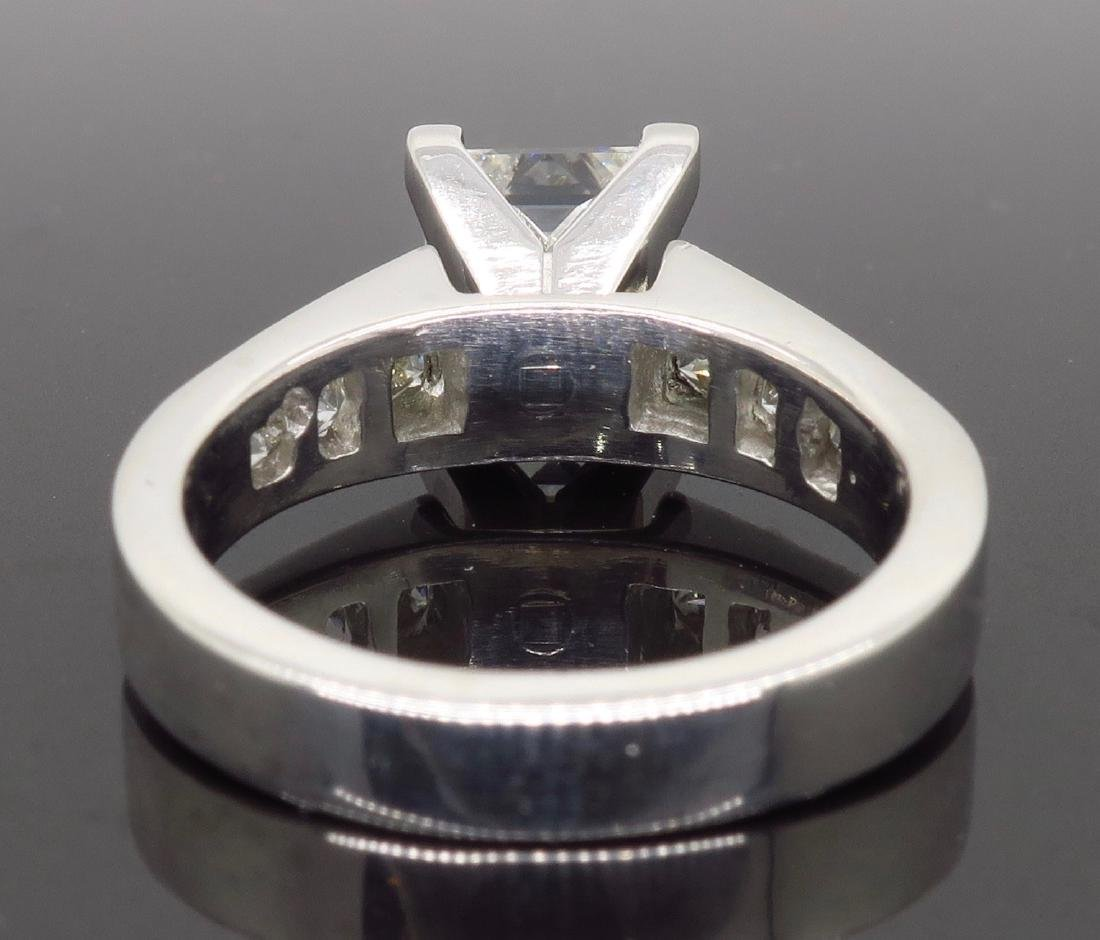 Platinum 2.01ct GIA Cert Diamond Ring - 5