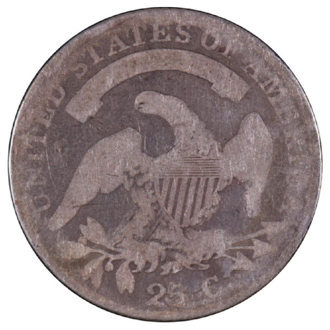 1819 Capped Bust Quarter Coin - 2
