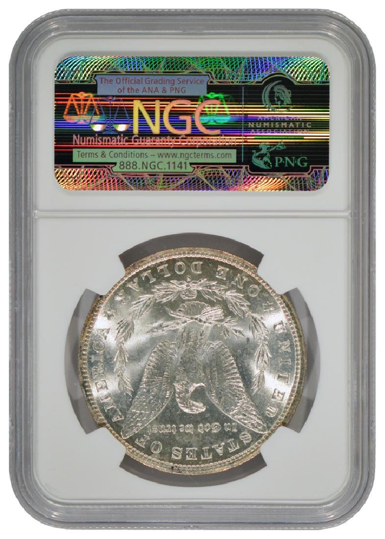 1887-S $1 Morgan Silver Dollar Coin NGC MS61 - 2
