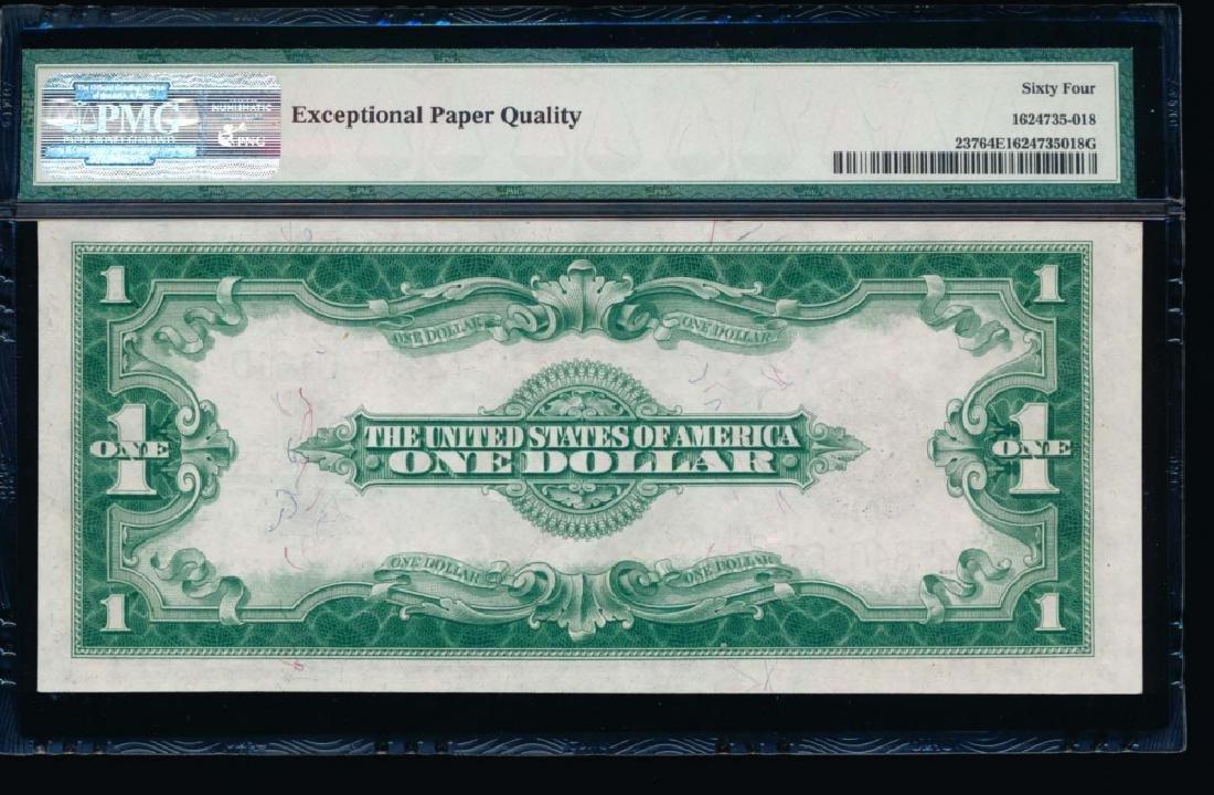 1923 $1 Silver Certificate PMG 64EPQ - 2