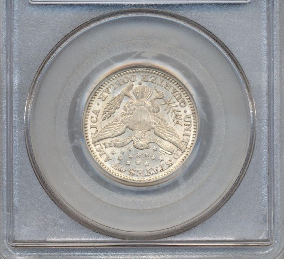 1916-D Barber Quarter Coin PCGS AU58 - 2