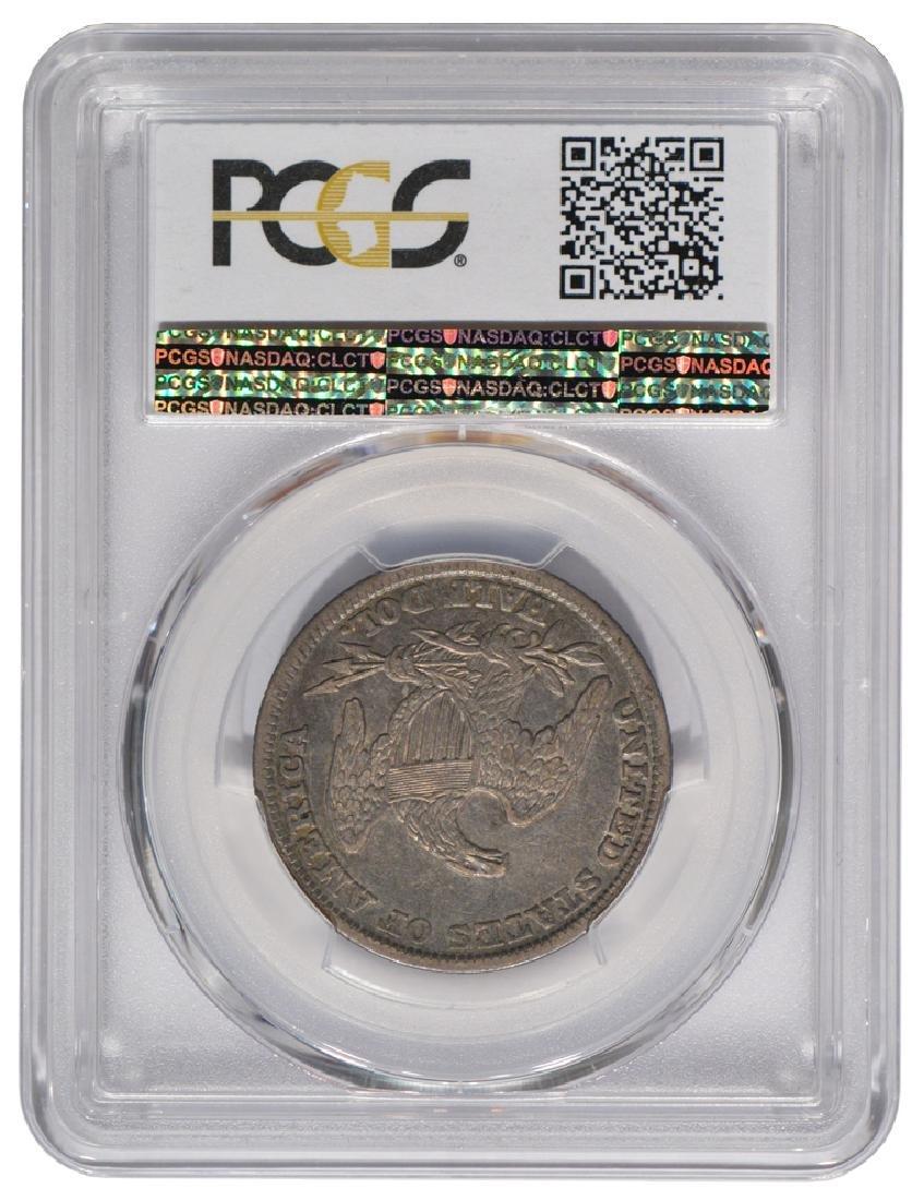 1839 Capped Bust Half Dollar Coin PCGS XF45 - 2