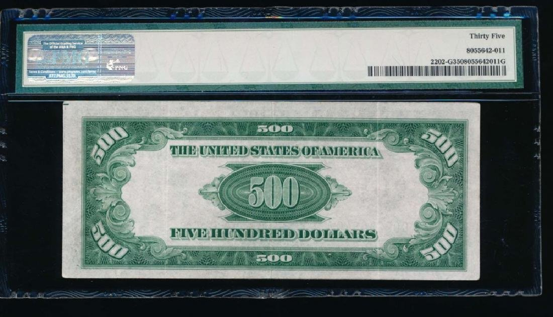 1934A $500 Chicago Federal Reserve Note PMG 35 - 2