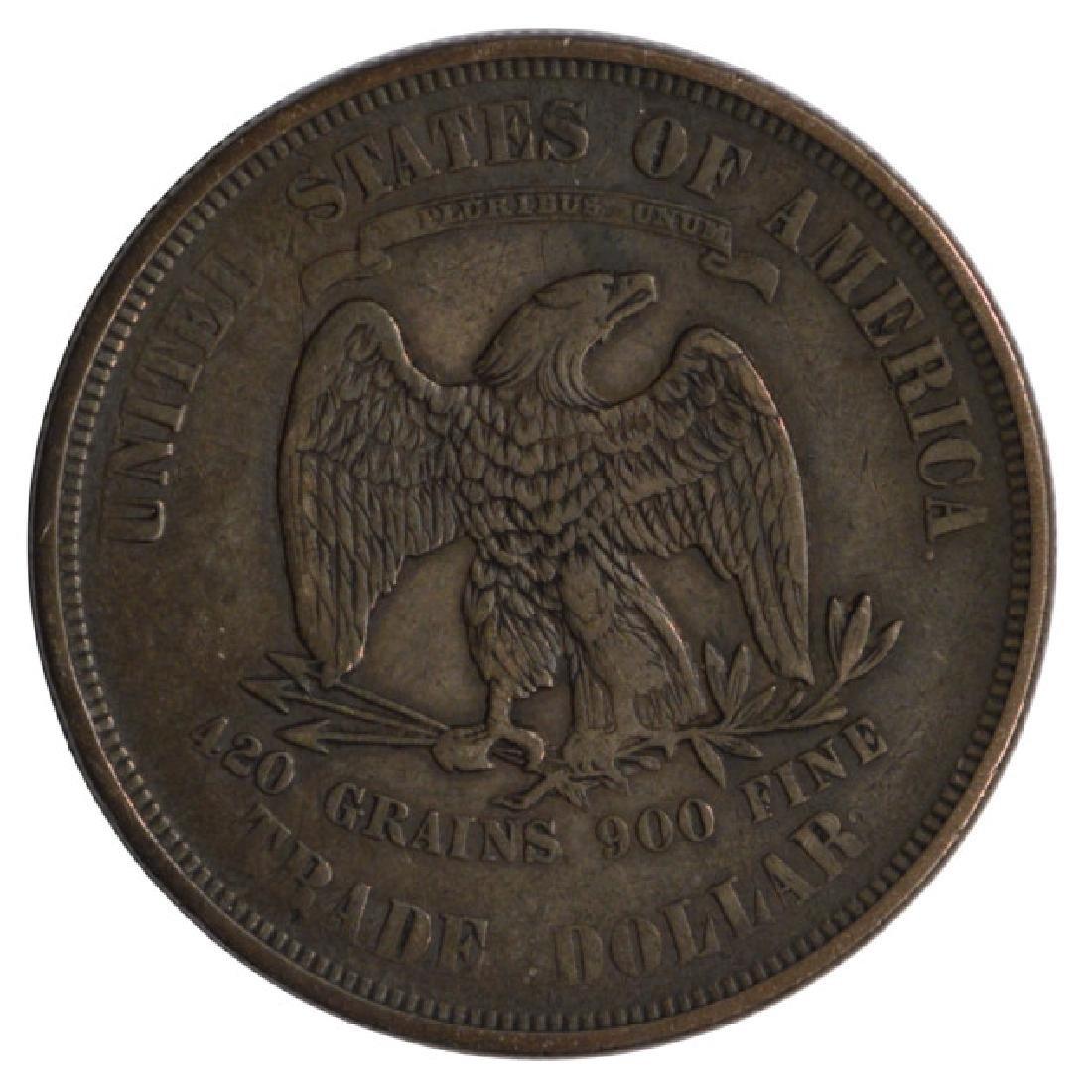 1874 Trade Dollar Coin - 2