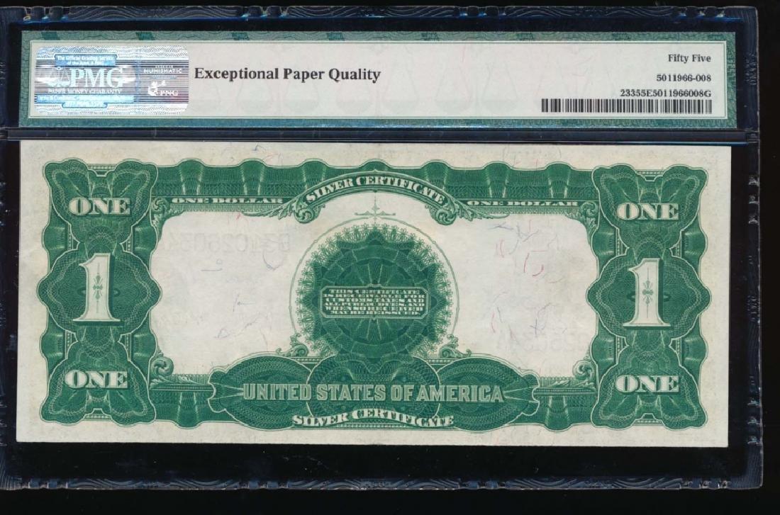 1899 $1 Black Eagle Silver Certificate PMG 55EPQ - 2