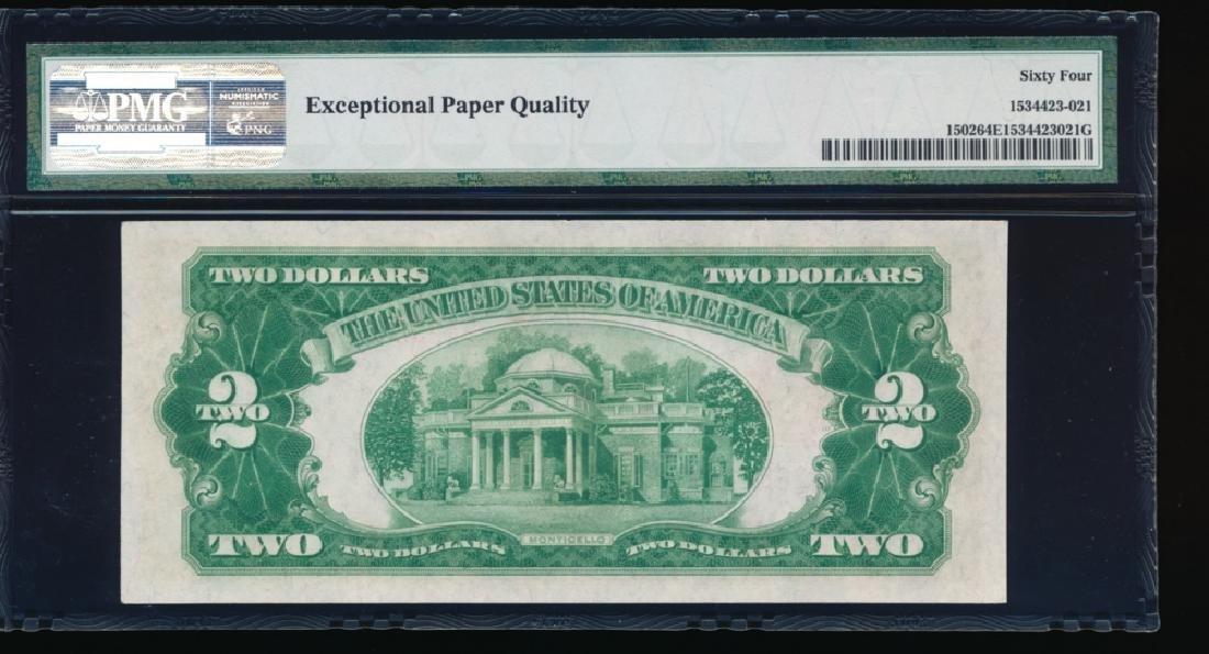1928A $2 Legal Tender Note PMG 64EPQ - 2