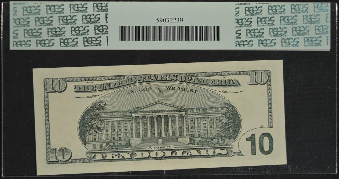 2003 $10 Federal Reserve Star Note PCGS 65PPQ - 2