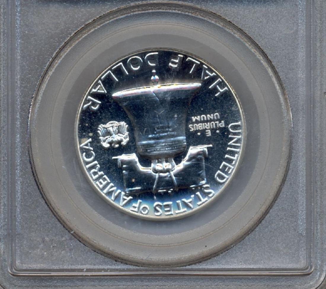 1962 Franklin Half Dollar Coin PCGS PR68 - 2