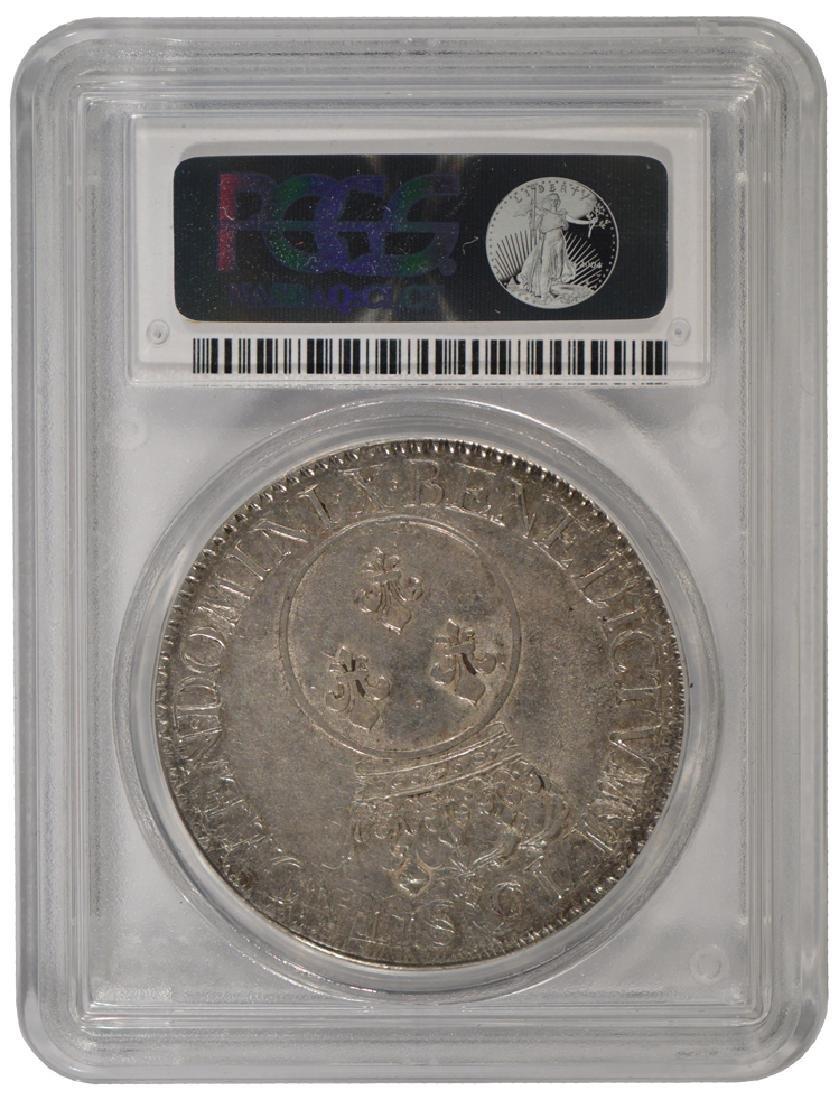 1716-X Louis XV ECU Coin PCGS AU50 - 2