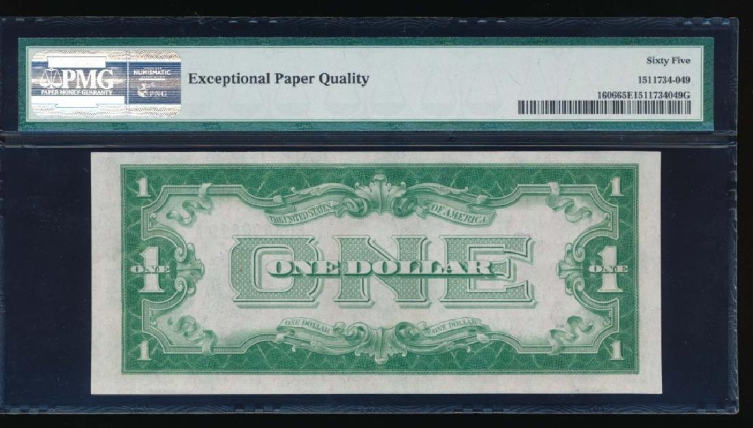 1934 $1 Silver Certificate PMG 65EPQ - 2