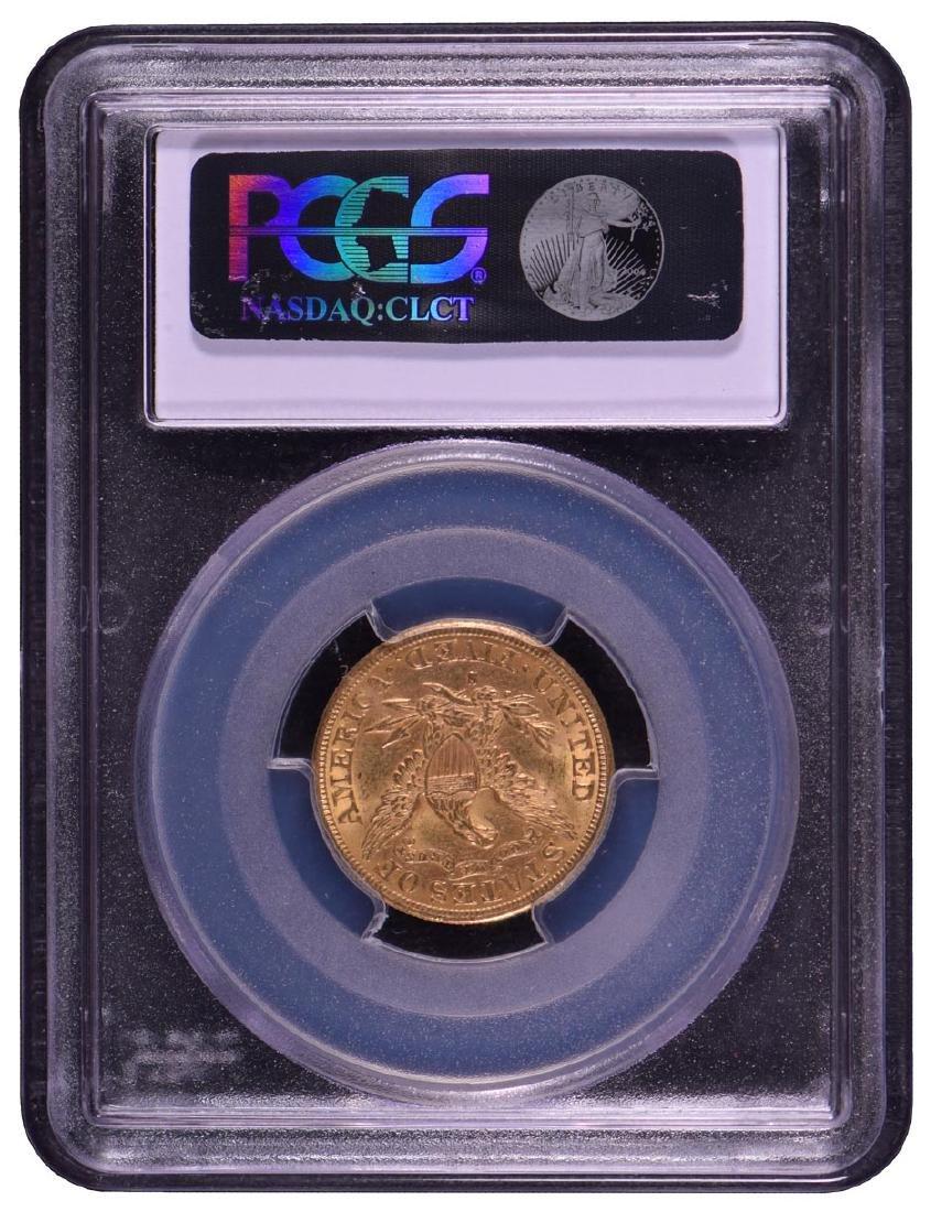 1892-S $5 Liberty Head Half Eagle Gold Coin PCGS MS62 - 2
