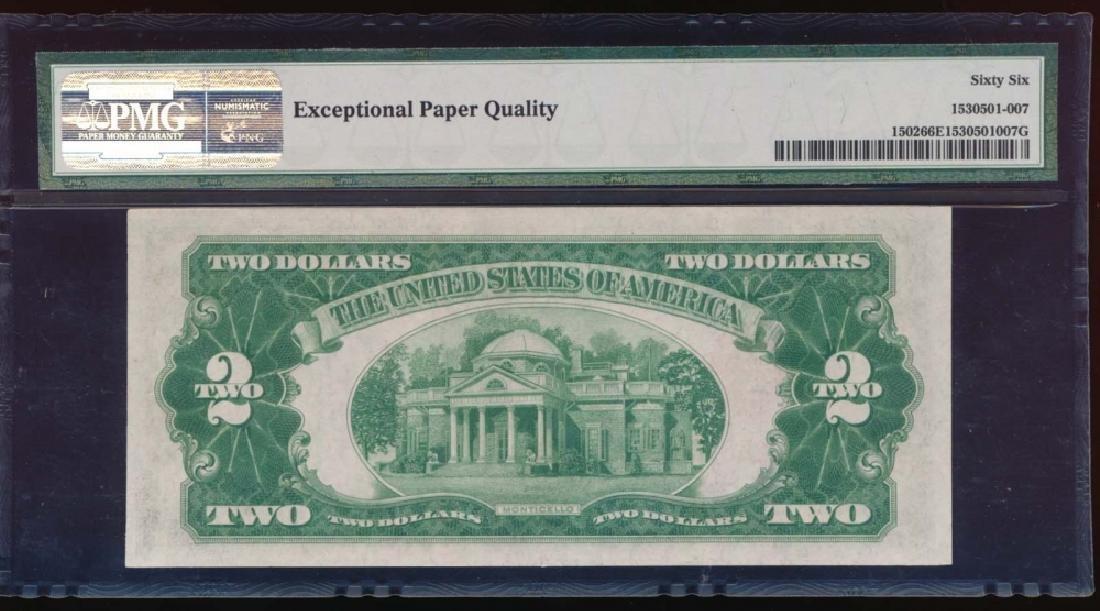 1928A $2 Legal Tender Note PMG 66EPQ - 2