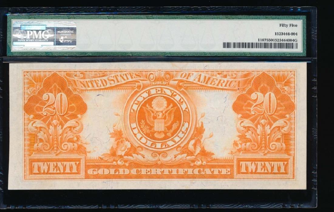 1922 $20 Gold Certificate PMG55 - 2