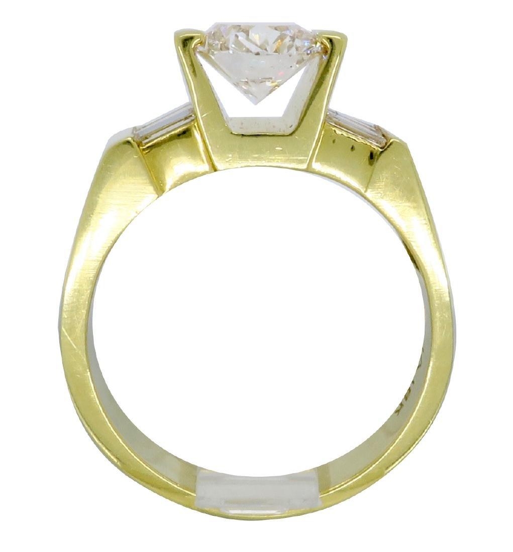 18KT Yellow Gold 2.01ctw Diamond Ring - 4