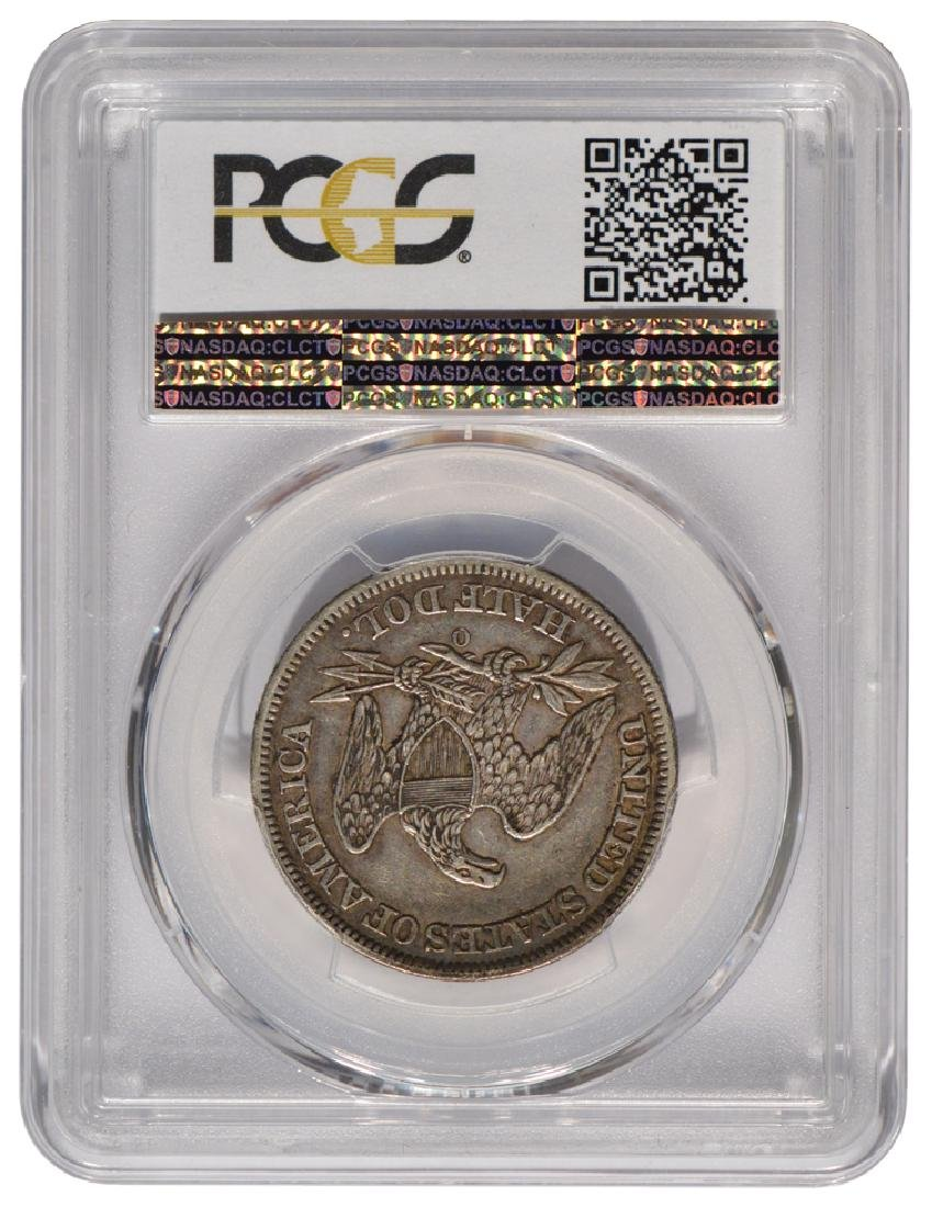 1850-O Seated Liberty Half Dollar Coin PCGS XF45 - 2