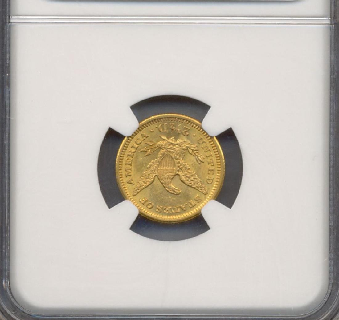 1907 $2.5 Indian Head Quarter Eagle Gold Coin NGC MS63 - 2