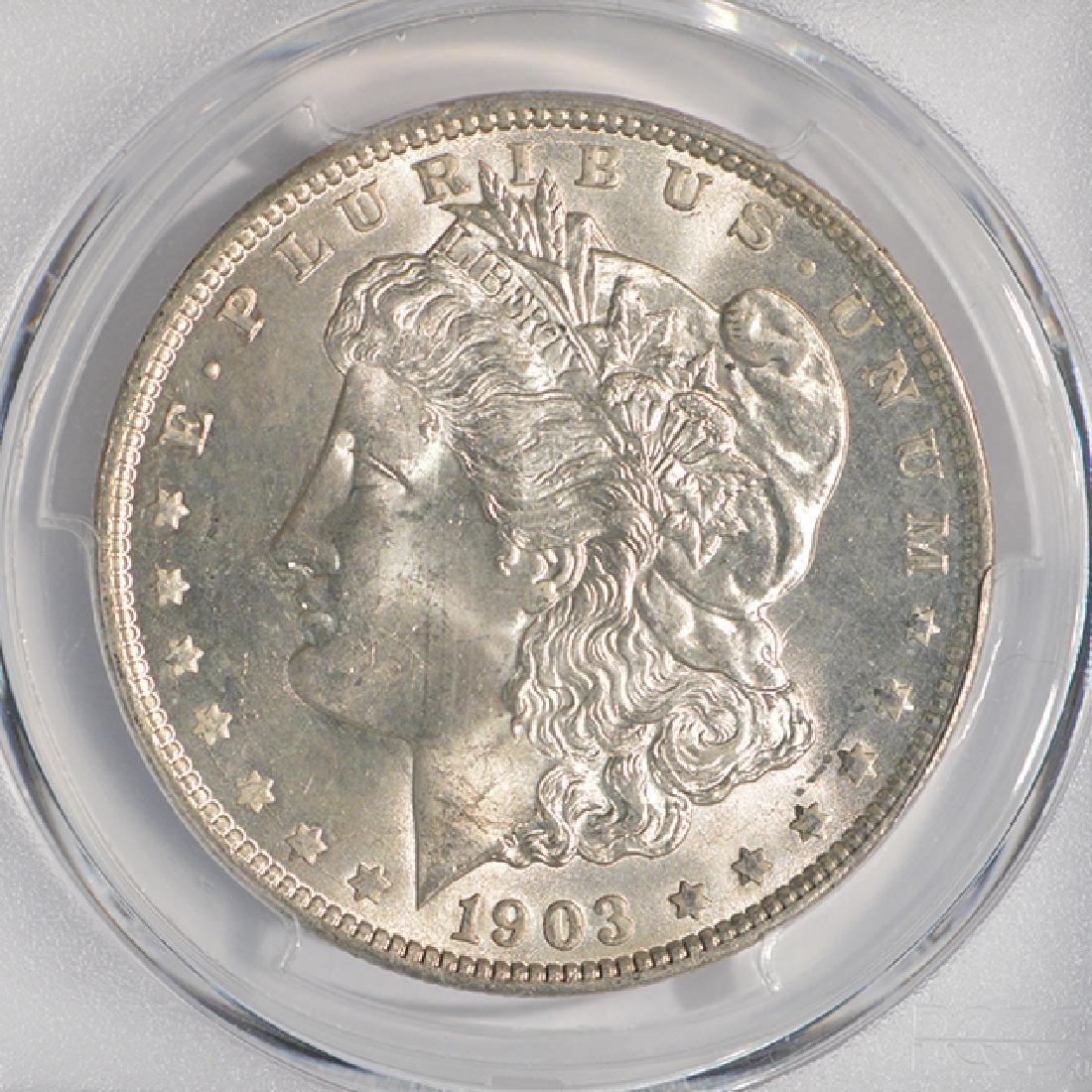 1903-O $1 Morgan Silver Dollar Coin PCGS MS65 - 3