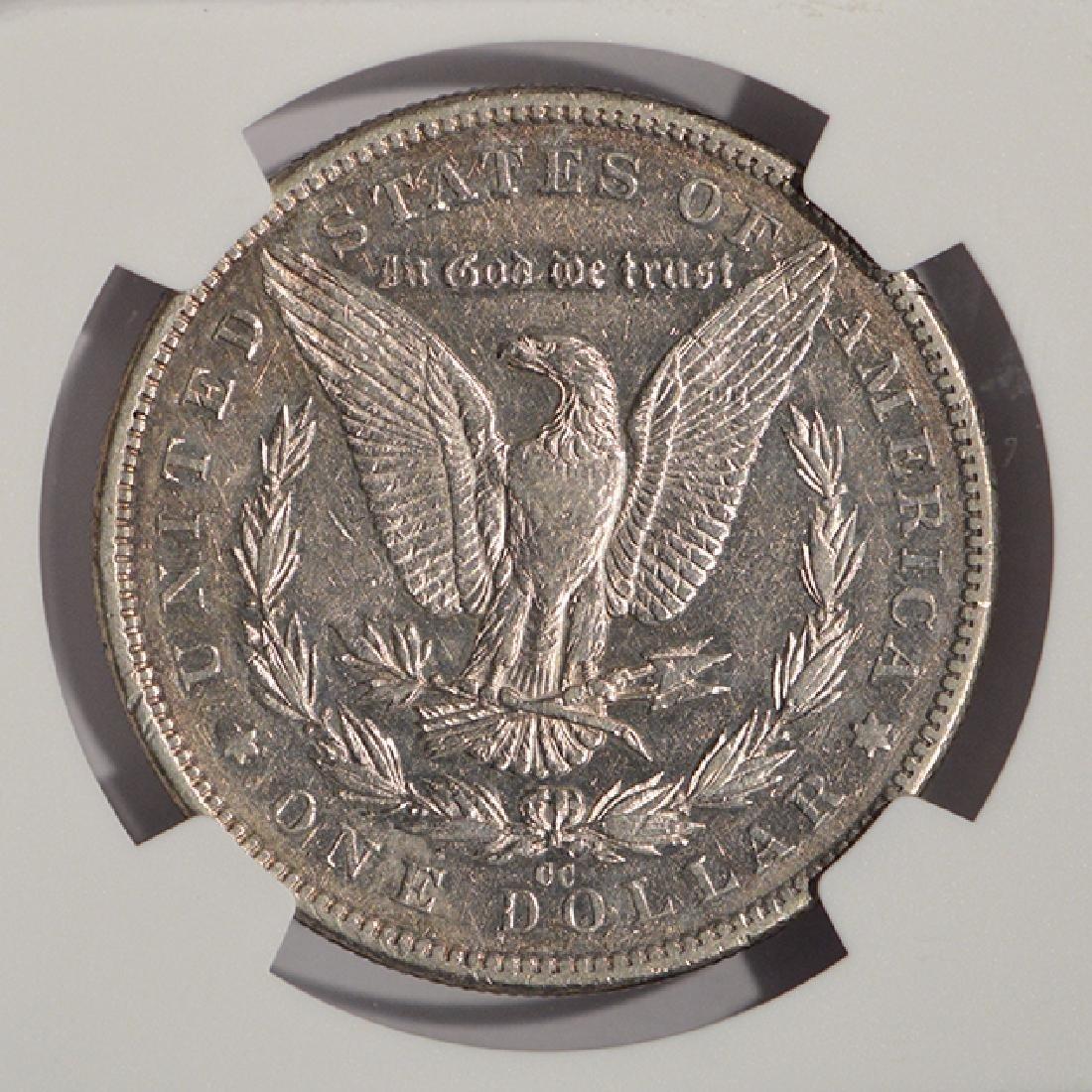 1889-CC $1 Morgan Silver Dollar Coin NGC XF45 - 4