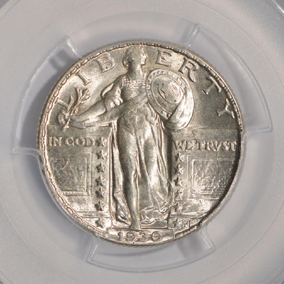 1930 Standing Liberty Quarter Coin PCGS MS63 - 3