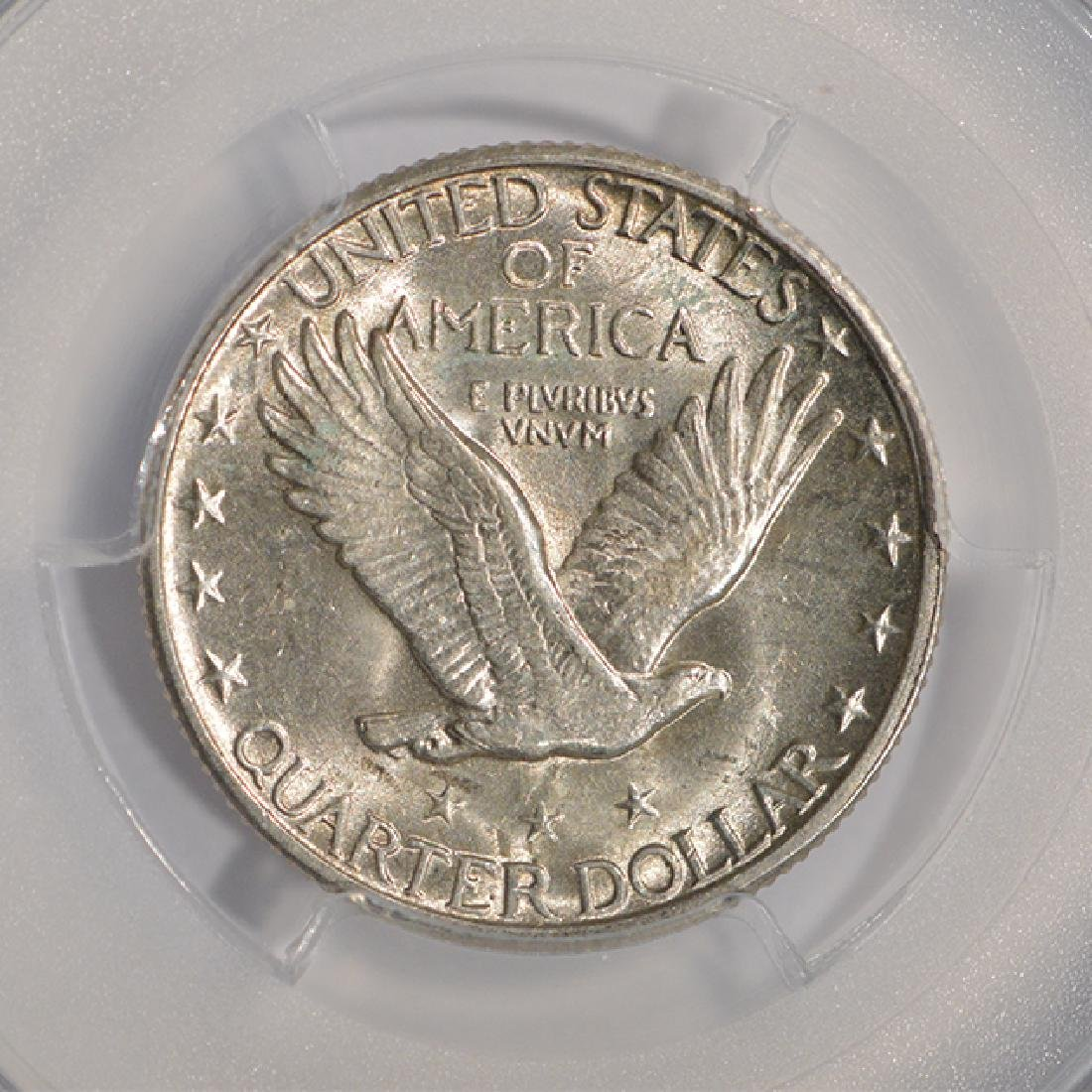 1930 Standing Liberty Quarter Coin PCGS MS63 - 4