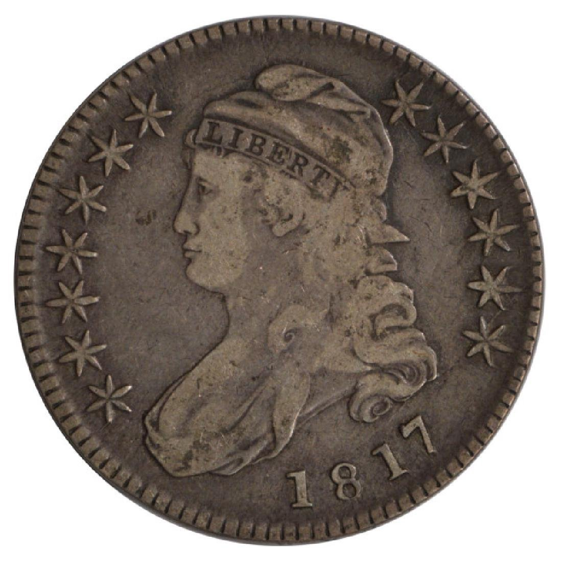 1817 Capped Bust Half Dollar Coin