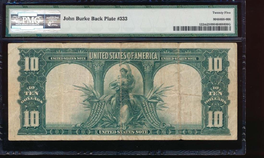 1901 $10 Bison Legal Tender Note PMG 25 - 2