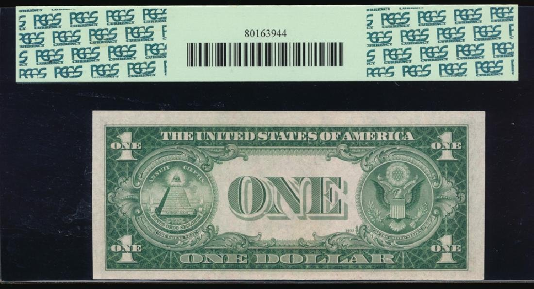 1935A $1 North Africa WWII Emergency Silver Certificate - 2