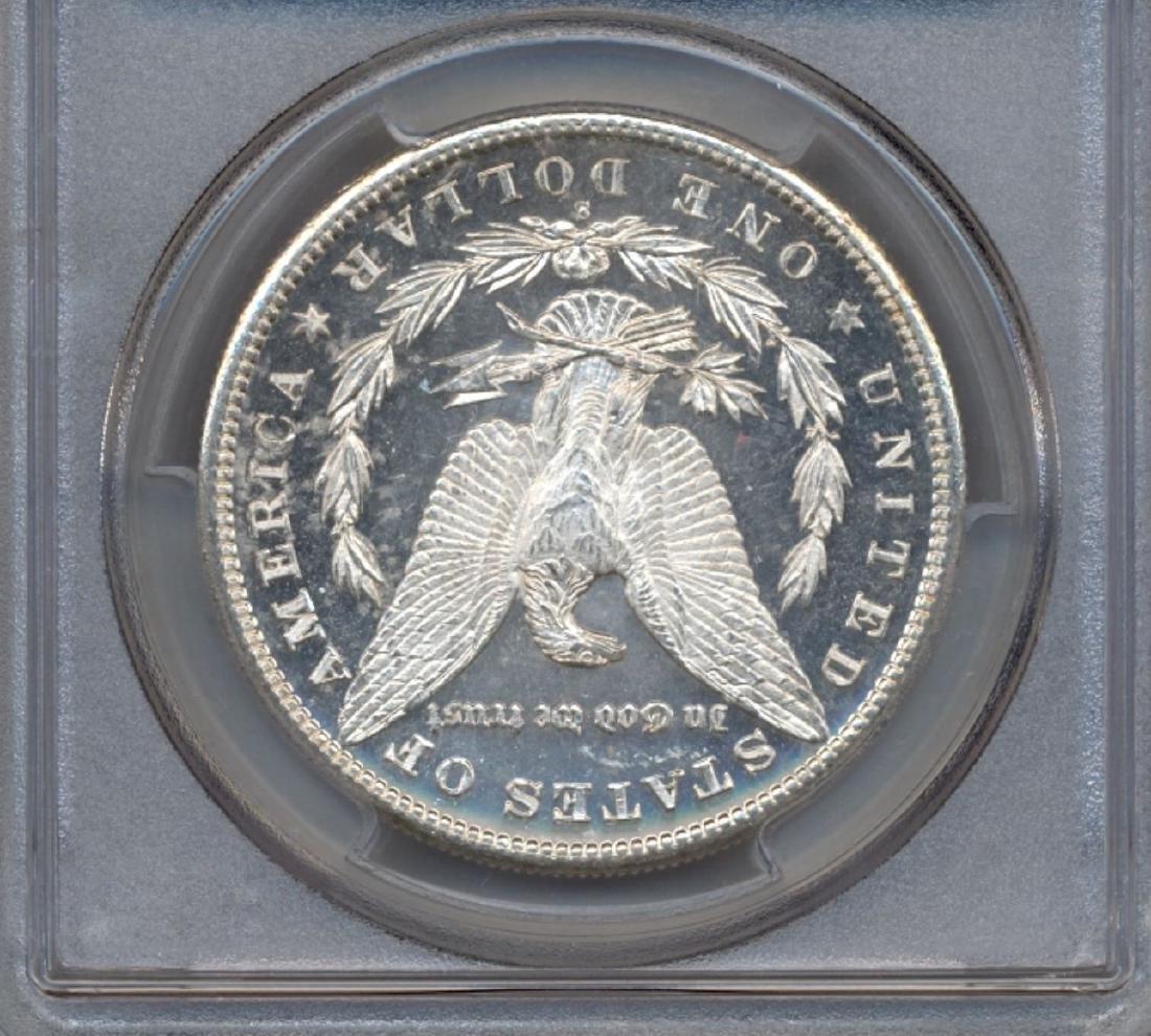 1881-S $1 Morgan Silver Dollar Coin PCGS MS64PL - 2