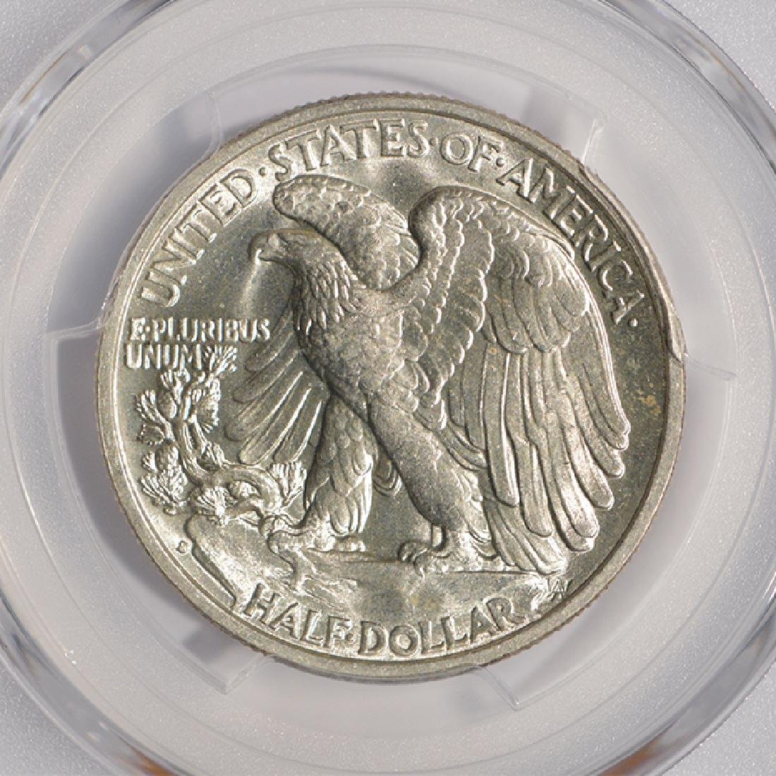 1941-S Walking Liberty Half Dollar Coin PCGS MS64 - 4