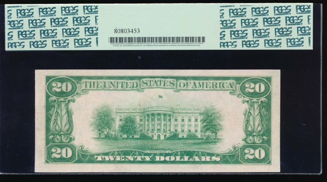 1928 $20 Gold Certificate Star Note PCGS 53 - 2