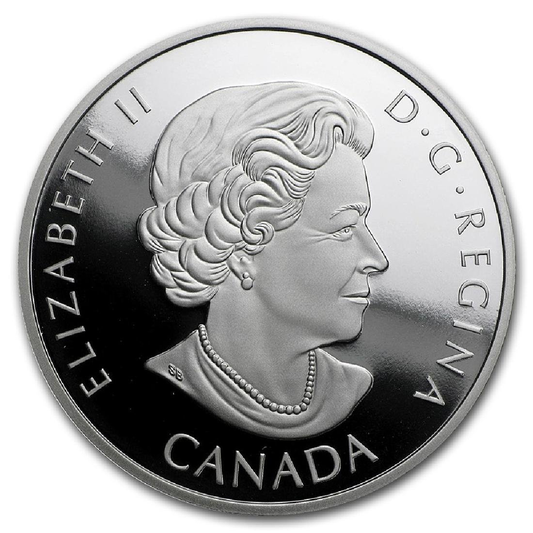 2016 $20 Canada Man of Steel 1 oz Silver Coin - 2