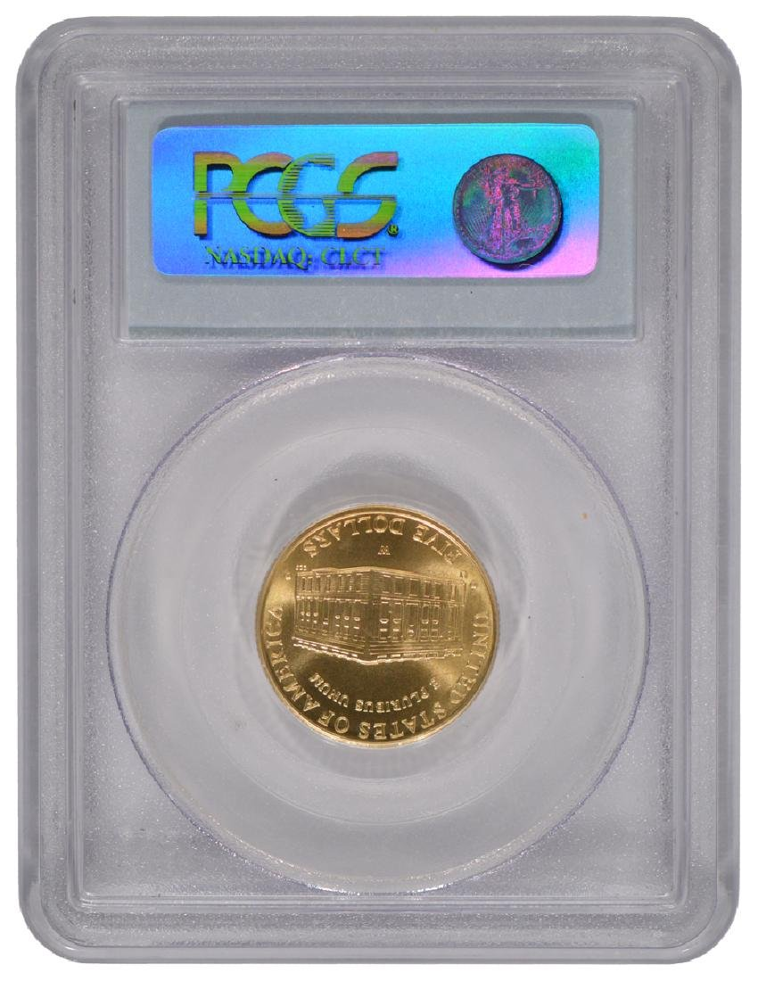 2001-W $5 Capitol Visitor Center Gold Coin PCGS MS69 - 2