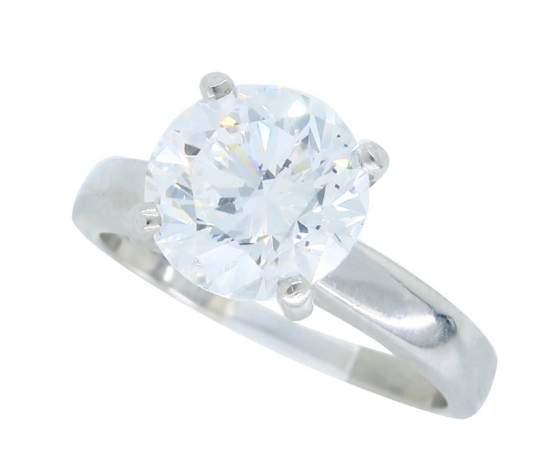 Platinum 1.61ct Diamond Ring