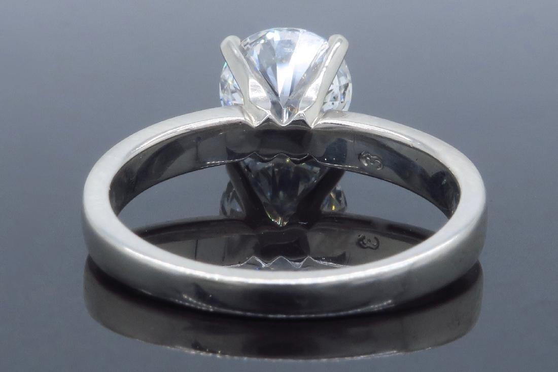 Platinum 1.61ct Diamond Ring - 4