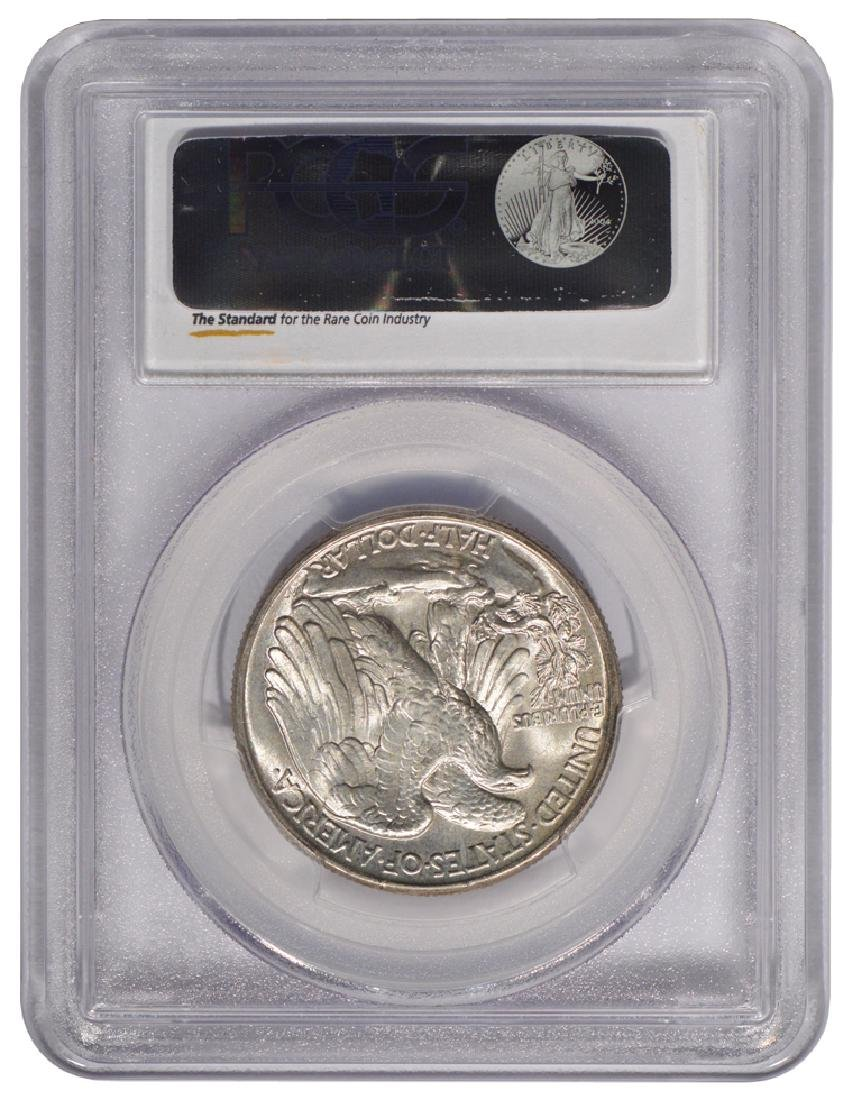 1945 Walking Liberty Half Dollar Coin PCGS MS66 - 2
