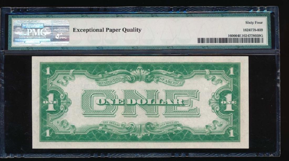 1934 $1 Silver Certificate PMG 64EPQ - 2