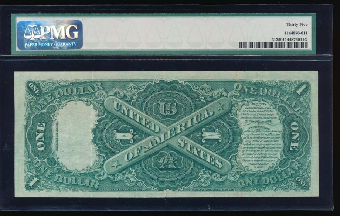 1880 $1 Legal Tender Note PMG 35 - 2