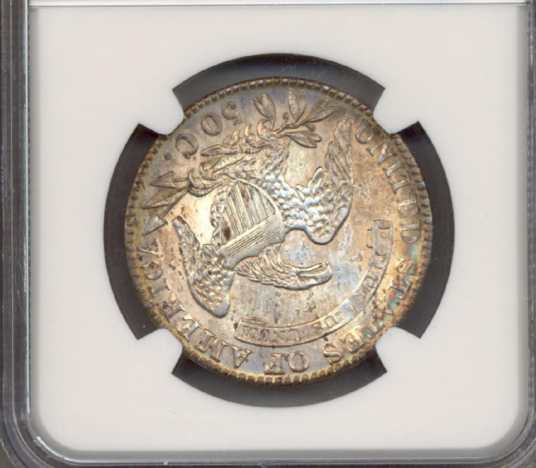 1831 Liberty Bust Half Dollar Coin NGC AU58 - 2
