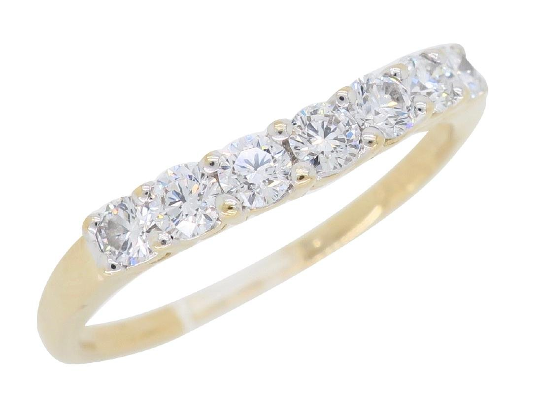14KT Yellow Gold 0.50ctw Diamond Ring - 3