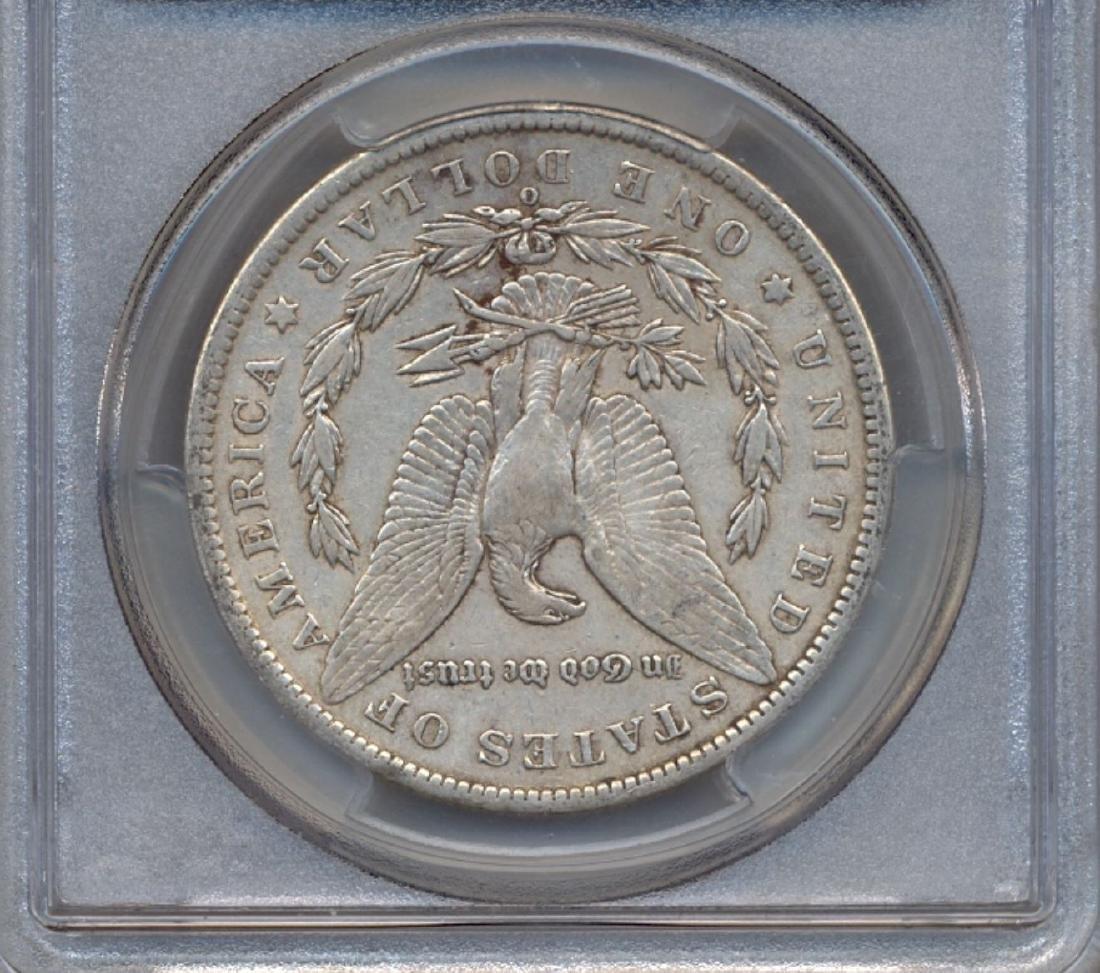 1886-O $1 Morgan Silver Dollar Coin PCGS XF40 - 2