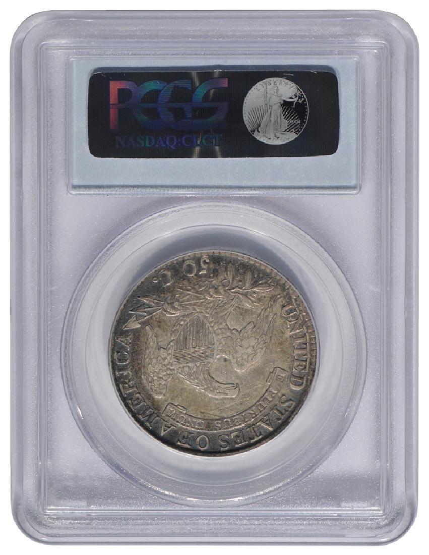 1814 Capped Bust Half Dollar Coin PCGS XF40 - 2