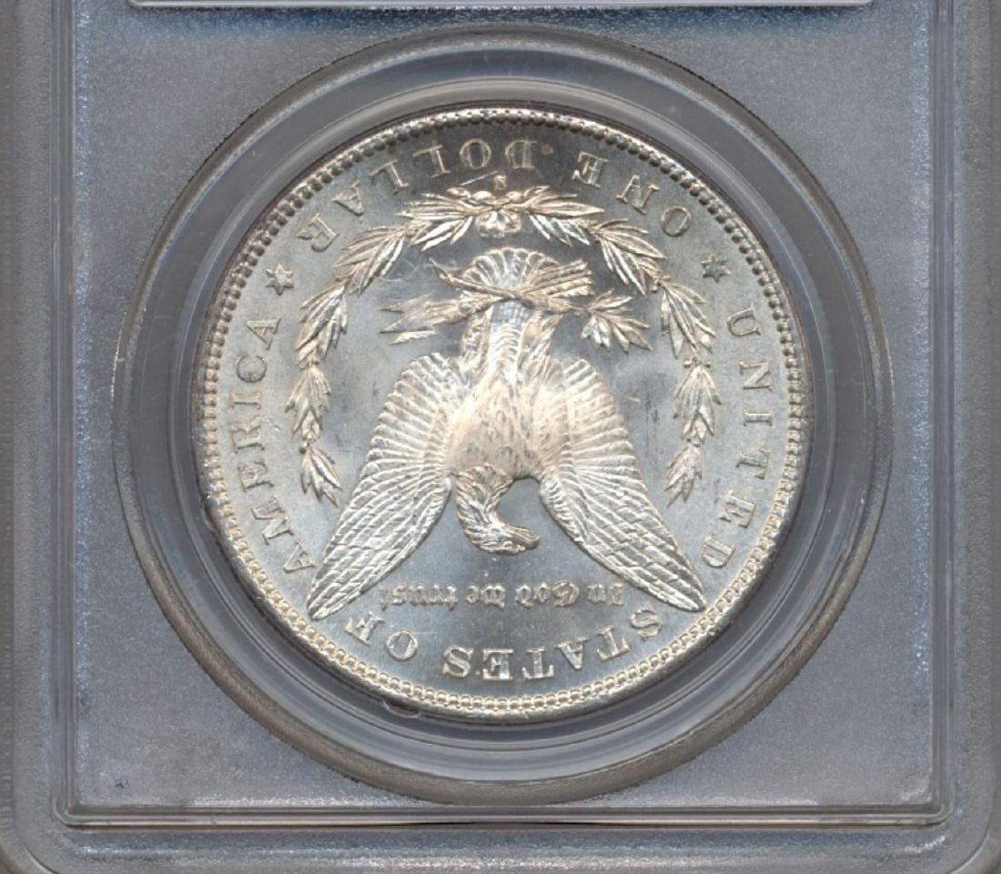 1881-S $1 Morgan Silver Dollar Coin PCGS MS64 - 2