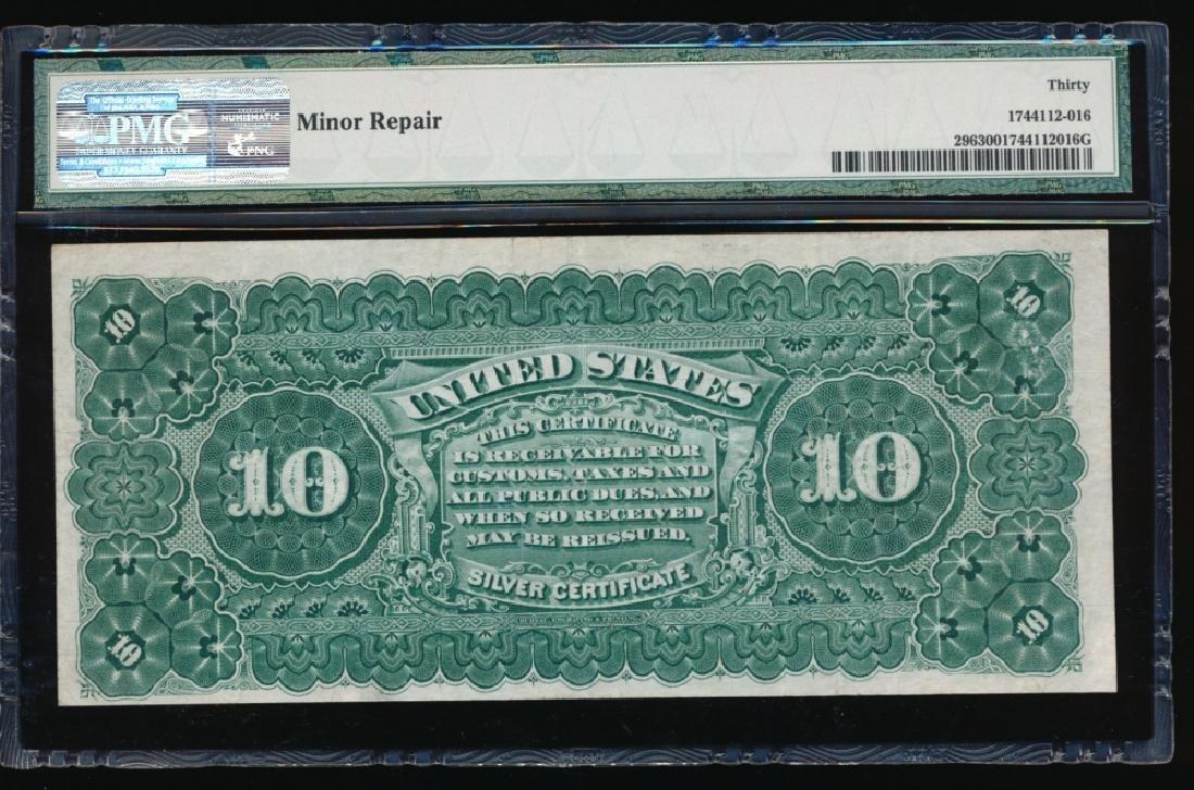 1886 $10 Silver Certificate PMG 30 - 2
